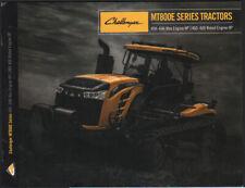 "AGCO Challenger ""MT800E"" Series Track Tractor Brochure"