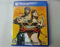PS4 Street Fighter V HOT package Japan Ver.