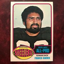 1976 Topps Set FRANCO HARRIS #100 PITTSBURGH STEELERS - NR-MINT *HIGH GRADE*