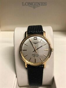 Longines Flagship 18ct Gold Automatic Watch