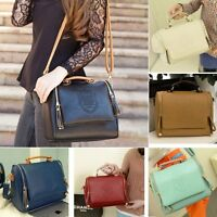 Fashion Designer Large Womens Leather Style Tote Shoulder Bag Handbag Ladies Hot