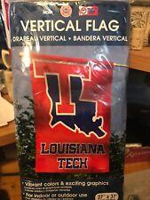 "New listing Louisiana Tech Bulldogs- 27"" X 37"" Vertical Flag"