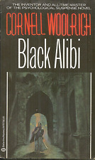 BLACK ALIBI  Cornell Woolrich - 1ST 1982 BALLANTINE - VERY GOOD PLUS