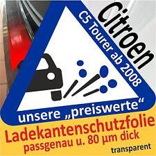 Protezione Vernice CITROEN c5 TOURER Paraurti Pellicola Pellicola Protettiva Auto 80µm