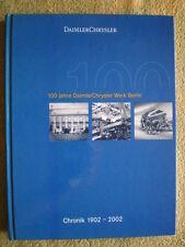 100 Jahre DaimlerCryslerwerk Berlin - Daimler Crysler Werk Berlin Marienfelde