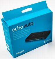 Echo Auto Handsfree Smart Assistant with Mount, Add Alexa to car Speakers-Refurb