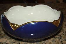 Blue & Gold Pickard Ensemble Blue Tulip Bowl Dish