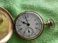 Amerikanische Elgin  Sprungdeckel Taschenuhr 16s von 1906
