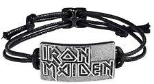 Iron Maiden Logo Cordon Bracelet (Ro )