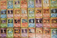 🔥 5 RARE RANDOM VINTAGE POKEMON CARDS ! 🔥 Pokémon Original Sets Lot WOTC