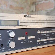 ReVox B261 stereo synthesizer FM tuner - hop quality HI-FI separate + warranty