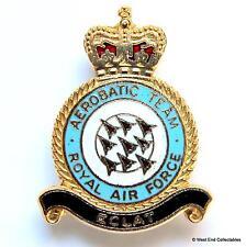 Genuine: Red Arrows RAF Aerobatic Team - GOMM Made Enamel Brooch Badge