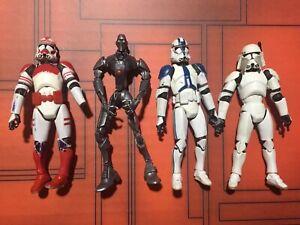 """Star Wars Clone Trooper Lot - Loose  3.75"""""""