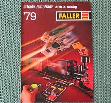 Faller  -- Katalog / Magazin 1979/80, 24 Seiten