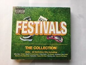 VARIOUS ARTISTS -FESTIVALS: THE COLLECTION ( RHINO 3CD COMPILATION)
