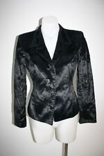 EMPORIO ARMANI black fitted jacket, size 38, AU 8, $1000 NEW!