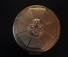 New ListingVintage Princess Pat Rouge Compact Hedge Rose Full Never Used
