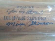 Autographed Bill Moose Skowron Louisville Slugger Auto Johnny Bench Bat