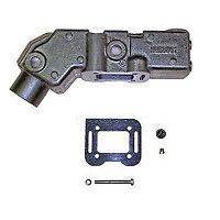 Mercruiser 470 485 488 exhaust riser suit alloy manifold # 98562A6