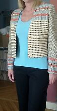 Kathleen Weir-West size 6 womens blazer, beautiful, colorful design.