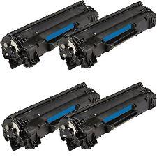 4pk Toner Cartridge For CE285A 85A Laserjet P1102 P1102W M1132 M1212nf M1217nfw