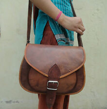 Leather Messenger Bag Women Purse Satchel Handbag Crossbody Sling Bags 12 In