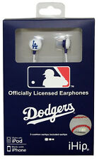 Los Angeles Dodgers Hi-Fi Ear Buds - LA MLB Head Phones Earbuds Headphones CDG