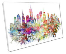 NEW YORK NYC CANVAS WALL ART PICTURE LARGE 75 X 50 CM