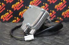 Vito's Yamaha Banshee thumb throttle assembly + lever 1987-2006 Blaster - SILVER