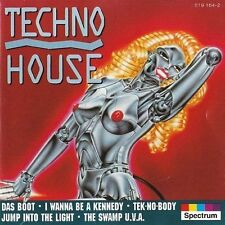 Techno House (1993) W.o.w., Influid, Master Program, U-tek, Scope, Cosmic.. [CD]