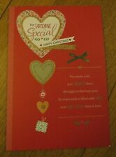 "Hallmark Christmas Card ""for someone special happy christmas"""
