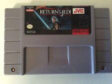 Nintendo Super Star Wars Return Of The Jedi SNES Video Game