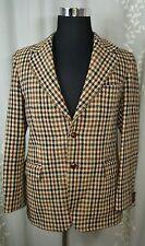 Vintage Harris Tweed suit jacket coat scottish wool 42R