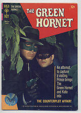 Green Hornet #3 Fine 1967 Gold Key Silver Age TV Comic Book Bruce Lee Kato Photo