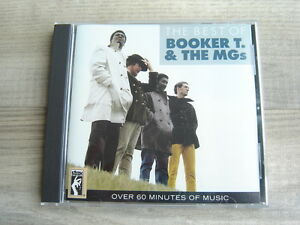 BOOKER T & MGs funk r&b CD soul *1986 USA ORIGINAL* The Best Of *REMASTERED*