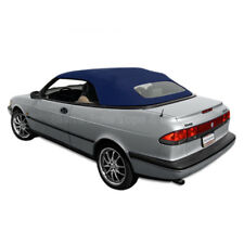 Saab 900S/SE Convertible Top 95-96 in Blue Stayfast Cloth, Glass Window