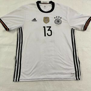 Tomas Muller Germany White Jersey Kit #13 FIFA World Champions 2016 Climacool