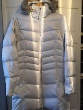 NEW! Mountain Hardwear Women's down hooded fou fur and plush lined coat Jacket