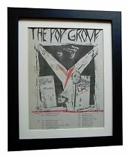 THE POP GROUP+Y+TOUR+POSTER+AD+ORIGINAL+1979+QUALITY FRAMED+EXPRESS GLOBAL SHIP