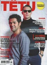 Tetu Magazine #172 12/2011 gay men CORY BOND JASON MORGAN JAMEL DEBBOUZE