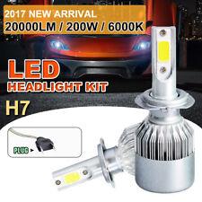 2x H7 200W 20000LM LED Weiß 6000k Auto Scheinwerfer Xenon Kugel Birnen Licht #y