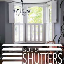 PLANTATION SHUTTER BLINDS - FREE DELIVERY- MEASURING AVAILABLE - MAYPOLE