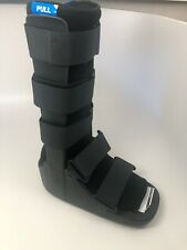 UNITED ORTHO AIR CAM WALKER FOOT FRACTURE BOOT LARGE BLACK USA 14107
