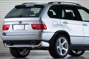 BMW X5 E53 (1999-2006) RAJOUT DE PARE CHOC ARRIERE / JUPE ARRIERE STYLE 4.8is