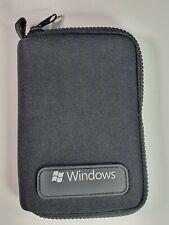 Nice Neoprene PDA Palm Soft Case Black Pouch Travel Bag Windows Branded