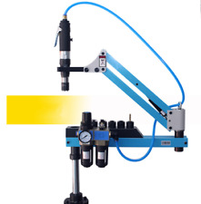 Universal Flexible Arm Pneumatic Air Tapping Machine 360 Angle 1000mm M3 M12