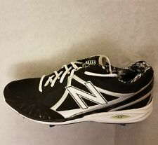 New Balance Mens Sz16 Baseball Rev Lite Metal Spike Black/Grey MB30000LS Cleats