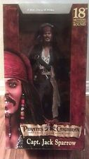 "PIRATES OF THE CARIBBEAN 1 - Jack Sparrow 18"" Talking Action Figure Johnny Depp"