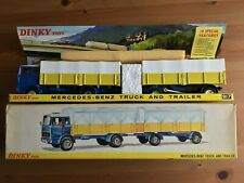 DINKY 917 MERCEDES BENZ TRUCK AND TRAILER ORIGINAL AND BOXED