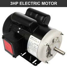 3 Hp Electric Motor For Air Compressor Single Phase 3450 Rpm 60 Hz 208 230v